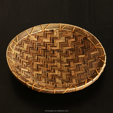natale di alta qualità bambù piatto e piatto