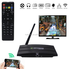 OEM Android 4.2 TV Box CS918T S805 1.5GHz Quad core 1GB / 8GB Bluetooth WiFi XBMC digital tv converter set top box with Camera