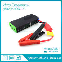 Best selling 13800mah emergency auto battery jump start for car and motorcycle