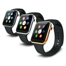 2015 Newest design ultra thin bluetooth smart watch mobile phone