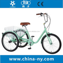 2015 Steel 6 Speed Tricycle / Trike / new model tricycle/three wheel bike