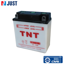 Best supplier just 6N11A-3 12v dry charged motorcycle battery for wholesale