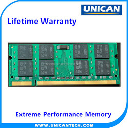 Laptop Application and 2GB Memory Capacity DDR2 667/800 Laptop RAM Memory Stick