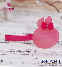 AICCYO hot sales baby hair accessories bulk bobby pins rhinestone lovely cat hair clips