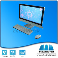 """Chestnuter - ENVY 21.5"""" Full HD All-In-One Computer - 4GB Memory - 500GB Hard Drive - Silver"""
