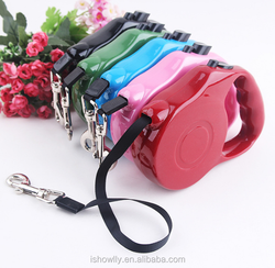 pet expand and contract flat belt type lead leash