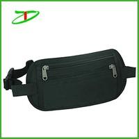 Wholesale customized stylish rfid money bag, fashion rfid waist belt