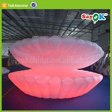 new advertising products ideas led inflatable lighting shell for party event show stage decoration