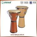 Africano tambor de percussão, instrumento musical djembe tambor