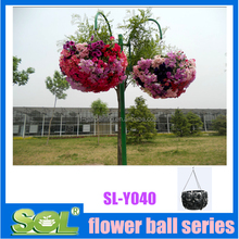potpourri decorative balls bulk plastic balls Decorative plastic hanging basket planters ball