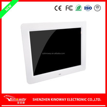 "Wholesale 10"" Lovely photo album frame motion sensor/remote control media display battery optional"