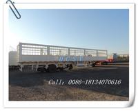 HCSV 4 axle high wall cargo semi trailer