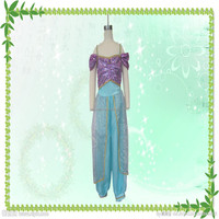 Hot selling fashion halloween party Arab princess cosplay costumes