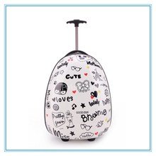 New Style Cheap Travel Kids Hard Trolley Luggage Bag