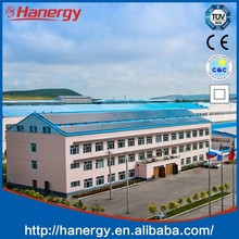 Hanergy sloping roof 50kw off grid solar system without battery