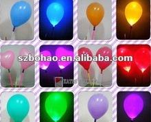 2012 hotest led Halloween inflatable balloons halloween decoration balloon led flashing balloons