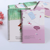 Customized bulk softcover spiral notebook for promotion