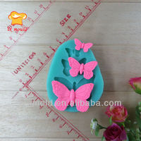 butterfly animal cake decorating silicone mold baking tool