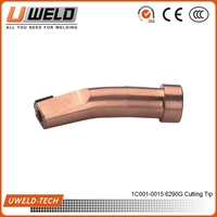 6290G Gas Cutting nozzle size
