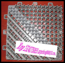 Entrance dust control rubber mat