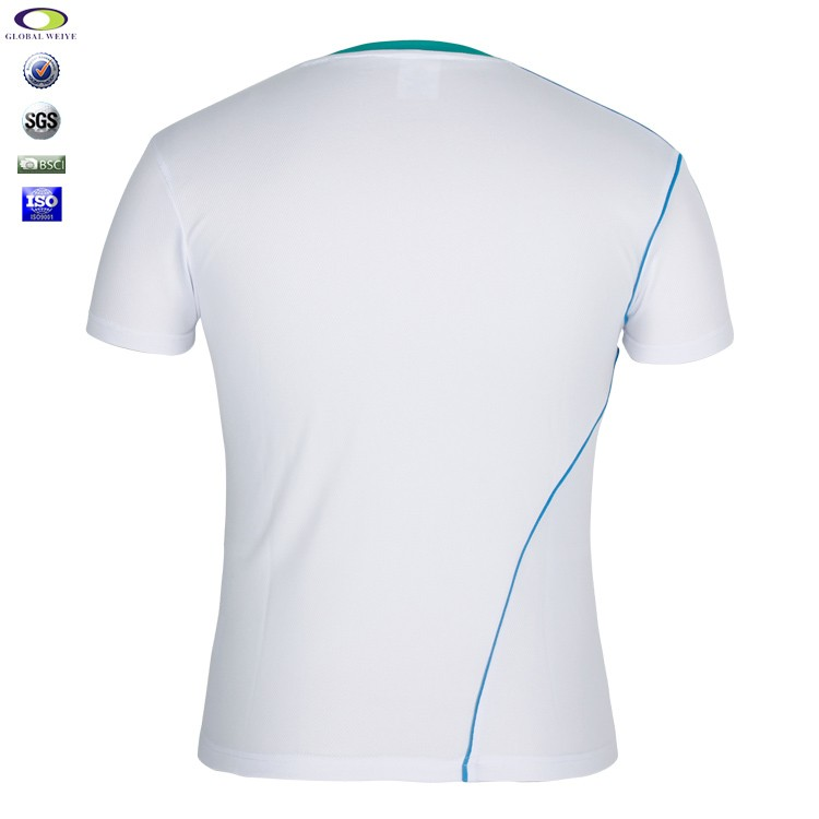 high quality v neck white gym top tee t shirts wholesale