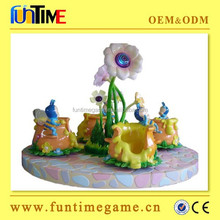 Funtime hot sale 4 players Kiddie Rides indoor amusement rides games coin operated park rides for sale