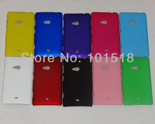 Newest Rubberized Hard Plastic Cover Case for Nokia Lumia 625