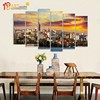 Home decor costom modern wall picture landscape house painting