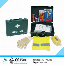 Durable Material Emergency Car First Aid Kit With Safety Vest