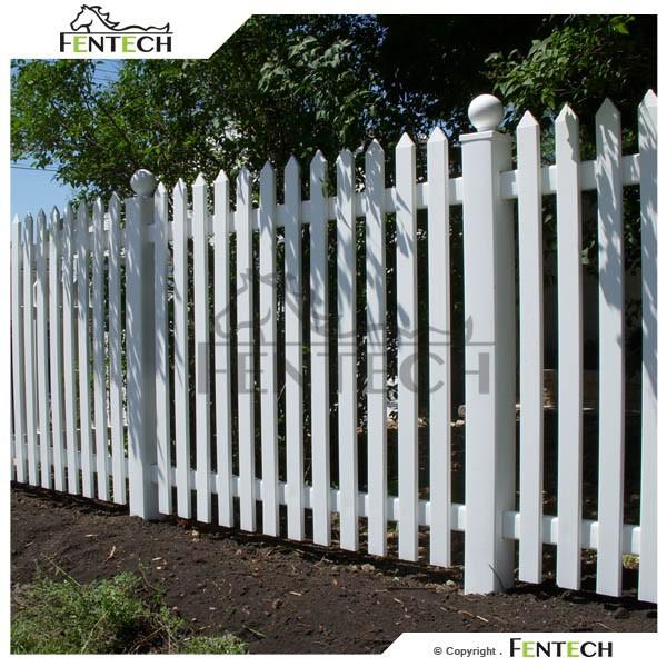Uv proof pvc cheap outdoor short garden fence plastic - Vallas jardin pvc ...