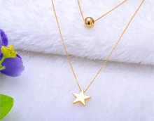 alibaba website wholesale gold plated jewelry star pendant Necklace Jewelry
