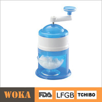 Hot Selling Plastic Manual Ice Shaver Crusher