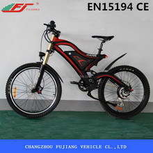 FUJIANG electric bicycle, electric bicycle low price, electric chopper bicycle with EN15194