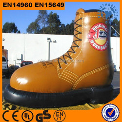 HOT!! High Quality Customized Advertising Giant Inflatable Shoe