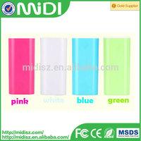 Full Capacity powerbank 5200mah 5600mAh portable battery charger Power bank 5600mAh