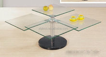 Low price hot-sale led bar table glass top