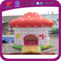 inflatable mushroom bouncy castle