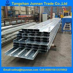 steel channel bars channel steel metal building materials Q235/SS400/S235JR