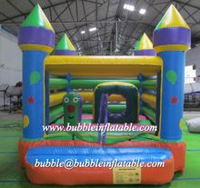 Wonderful design inflatable mini castle with fence/inflatable moonwalk