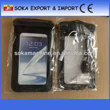 2013 Hot sale pvc waterproof cell phone bag for phone