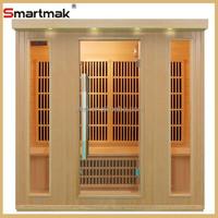 Kingston carbon heater 4 person hemlock wood household infrared sauna