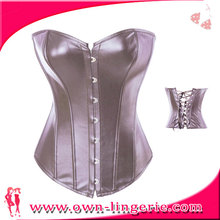 High Quality brown leather corsets