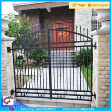 Cheap Decorative Wrought Iron Fence Designs/Post and Rail Fence/Metal Fence Gates