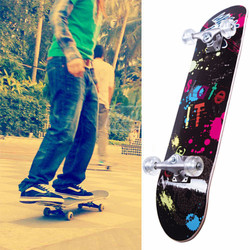 31x8 inch pass EN71 skateboard 100% China Maple decorative skateboard decks