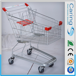 supermarket personal shopping trolley/80l european style shopping trolley/wheel and trolley shop