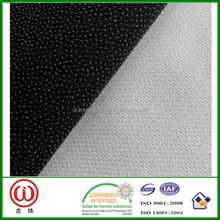 Fusible Polar Fleece interlining PA coating Fiber Tape Soft Hand Feeling Twill fabric