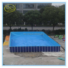 Hot sale PVC 0.55mm inflatable swimming pool,inflatable pool rental
