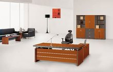 Fashion office desk red cherry executive desk 1.8m boss desk