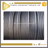6*37+IWRC Steel Wire Rope in Ungalvanized Surface 8mm