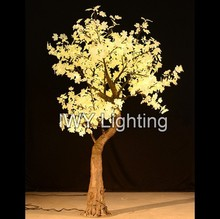7ft Factory Wholesale Warm White Artificial Maple Tree For Home Decoration